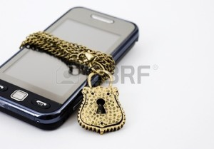 13849431-blocked-mobile-phone-with-a-chain-and-lock-isolated